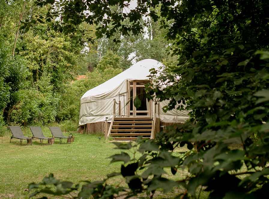 À propos 2 la cabane - guest camp